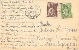 PORTUGAL: CERES Circulated Postcard With FONTE-ARCADA Cancellation RRR - 1910 - ... Repubblica