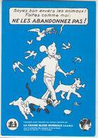 Carte Postale TINTIN  (hergé) - Livres, BD, Revues