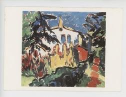 Karl Schmidt Rottluff 1884-1976 - Maison Blanche à Dangast (collection Particulière) Cp Vierge - Paintings