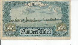 100 MARK 1922 TB - [ 3] 1918-1933: Weimarrepubliek
