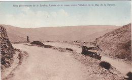 Lacets De La Route Entre Villefort Et Le Mas De La Barque - Francia