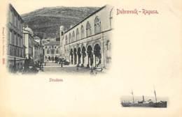 CROATIA - Dubrovnik (Ragusa) - Stradone. - Croatia