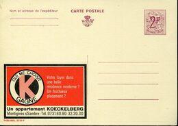 56190 Belgium Publibel  2235 F  2f  Oui Me Choisit - Stamped Stationery