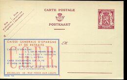 56192 Belgium Publibel  798  65c.  C.g.e.r - Stamped Stationery