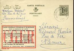 56193 Belgium Publibel  1367  1,20f  C.g.e.r - Stamped Stationery