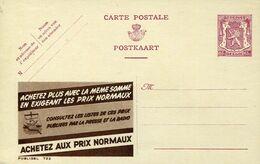 56196 Belgium Publibel  722  65c.  Achetez Aus Prix Normaux - Stamped Stationery