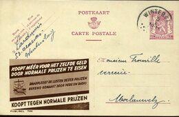 56197 Belgium Publibel  726  65c. Koopt Tegen Normale Prijzen - Stamped Stationery