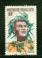 French Polynesia / Polynésie Française; Scott # 188; Usagé (3343) - Polinesia Francese