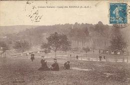 788MesnilsColonie Scolaire - Camp Des MesnilsCirculée 1923 - Le Mesnil Saint Denis