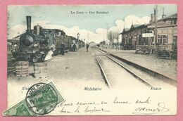 67 - MOLSHEIM - Gare - Bahnhof - Train - Locomotive à Vapeur - Molsheim