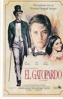 AFFICHE DE CINEMA Sur Carte Postale: EL GATOPARDO Avec Burt Lancaster, Alain Delon, Claudia Cardinale ... - Manifesti Su Carta