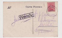 Zegel OC 66 Op Postkaart Tournai - Stamped Stationery
