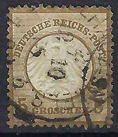 ALLEMAGNE 1872: Le Y&T 6 Obl. CAD - Gebruikt
