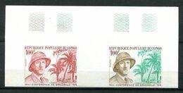 Thème Général De Gaulle - Congo Yvert 355 - Paire Essai De Couleur ND - Neuf Xxx - Lot 291 - De Gaulle (Général)