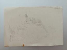 Carte Dessin Bussières 1910 ? - Altri Comuni