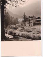 Aosta Champorcher Fotografica Settembre 1958 Fg - Non Classificati