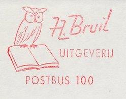 Meter Cut Netherlands 1969 - Frama 28 Bird - Owl - Vogels
