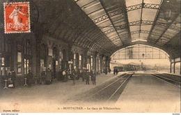 D82  MONTAUBAN  La Gare De Villebourbon  ...... Vue Intérieure - Montauban