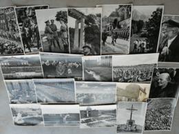Adolf Hitler  Sammelbilder 15 /   Lot De 21 Clichés Grand Format  Großes Format 170 X 120 - Cheques & Traveler's Cheques