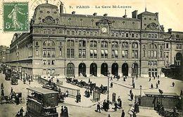 029 963 - CPA - France (75) Paris - La Gare St-Lazare - Metro, Stations
