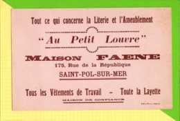 BUVARD & Blotting Paper : Au Petit LOUVRE  Maison  FAENE & SAINT PAUL Sur MER - Textile & Vestimentaire