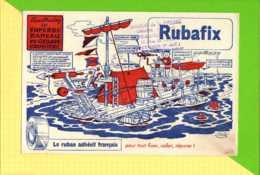 BUVARD & Blotting Paper : RUBAFIX  Radeau De Croisiere Saint OMER - Cartoleria