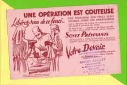 BUVARD & Blotting Paper : Operation Chirurgie Mutuelle  Librairie DucLoy  CALAIS - Drogerie & Apotheke