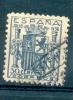 ESPAÑA 1936 EMISION DE GRANADA YVERT NR. 564D OBLITERE - 1931-Aujourd'hui: II. République - ....Juan Carlos I