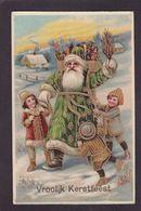 CPA Père Noël Santa Claus Circulé - Santa Claus