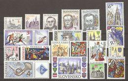 Slovaquie  1993/9 - Petit Lot De 20 NSG - Lots & Kiloware (mixtures) - Max. 999 Stamps