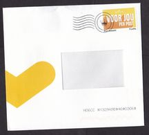 Netherlands: Cover, 2020, 1 Cinderella Stamp Postage Paid PostNL, Issued For Hallmark, Slogan (minor Damage At Back) - Periodo 2013-... (Willem-Alexander)