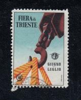 FIERA DI TRIESTE 1952 - ERINNOFILO - CHIUDILETTERA - 6. 1946-.. Republic