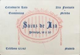 Madrid, Facture Et Carte De Visite 1943. Espagne. - Espagne