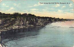 07 - 2020 - USA - ETATS UNIS - RHONE ISLAND - NEWPORT - View Along The Cliff Walk - Newport