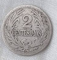 Uruguay 2 Centesimos 1909  #15 - Uruguay
