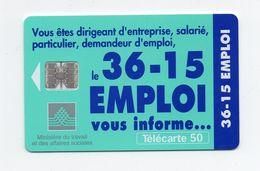 "Télécarte ""3615 Emploi"" - Telefonkarten"