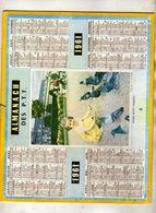 Almanach Des P.T.T  1961 - Tarn Et Garonne - Fillette  Pigeons - Phot A M Berger - Oberthur  Rennes - Calendari