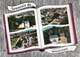 6035 Cpsm Montleveque -  Souvenir - France
