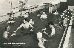 009066  Kurort Baden - Kurheim Mariazellerhof. Unterwassertherapie - Baden Bei Wien