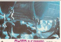 AFFICHE DE CINEMA Sur Carte Postale: ALIENS El 8 Pasajero - Manifesti Su Carta