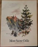 Mont Saint Odile, Cahier De 10 Aquarelle De Robert Kuven - Other