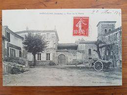 CPA - SAINT-CLAIR - PLACE DE LA MAIRIE - Autres Communes