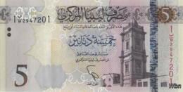 Libya 5 Dinars (P81) 2015 -UNC- - Libia