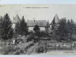 Carte Postale De Jaunay-Clan Dans La Vienne, Le Château - France
