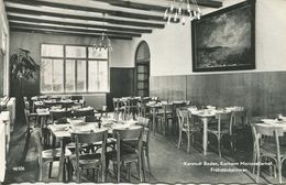 009068  Kurstadt Baden - Kurheim Mariazellerhof. Frühstückszimmer - Baden Bei Wien