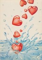 "322- ILLUSTRATORE - M. SANTAMBROGIO - ""HAPPY HEARTS"" - Illustratori & Fotografie"