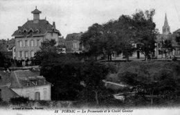 6101 Cpa Pornic - La Promenade Et Le Chalet Gautier - Pornic