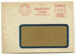 "Troppau Opava Firmen-Brief Freistempler ""Raiffeisen Troppau"" 1939 - Sudeti"