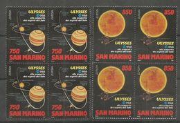 4x SAN MARINO - MNH - Europa-CEPT - Space - 1994 - 1994