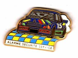 Pin's  Mercedes  Alarme Sécurité Service  Zamac BAltazart - Mercedes